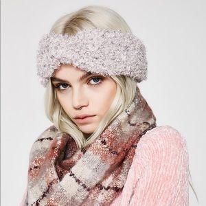 Fuzzy headband/headwarmer